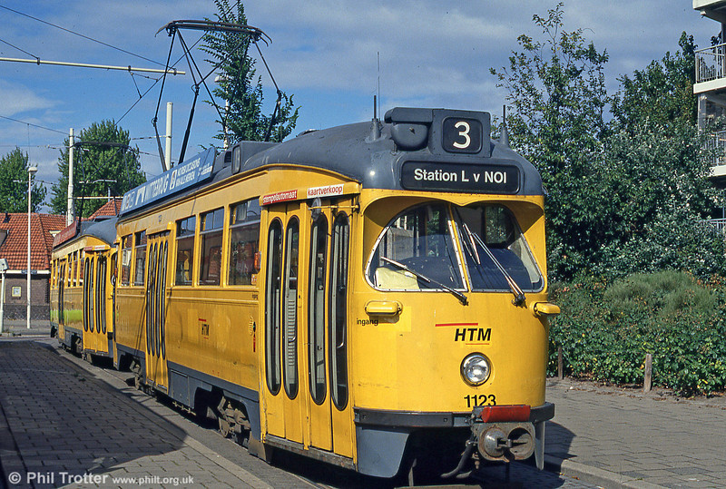 Car 1123 at Loosduinen on 6th August 1990.