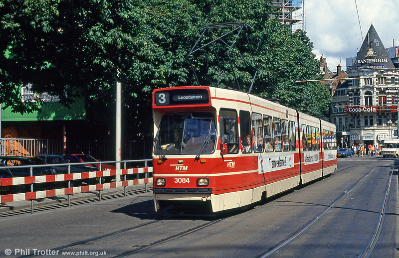 Car 3084 at Hof Weg on 6th August 1990.