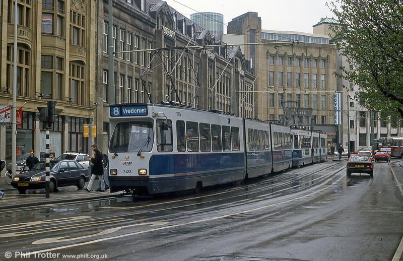 Car 3123 at Hof Weg on 15th April 1994.