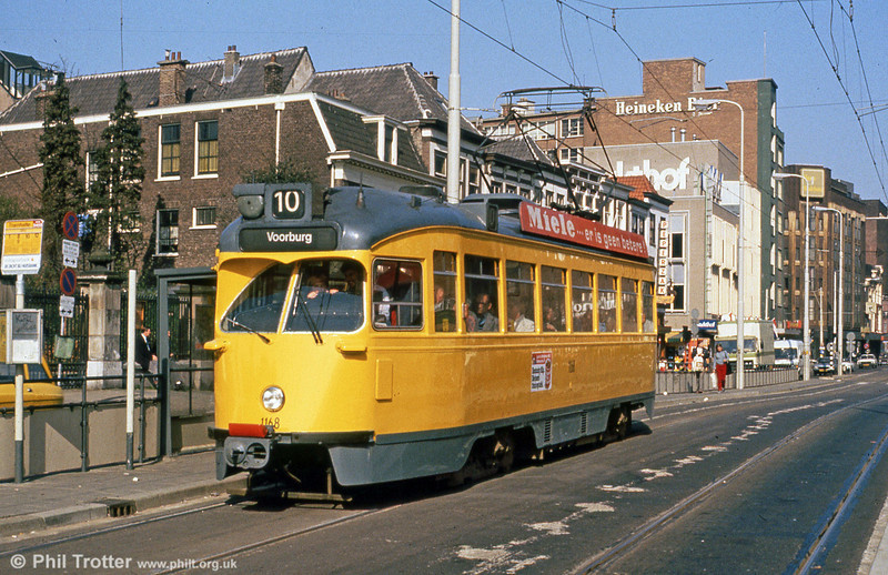 Car 1168 at Spui on 28th August 1991.