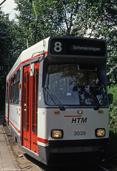 Car 3039 at Vrederust on 6th August 1990.