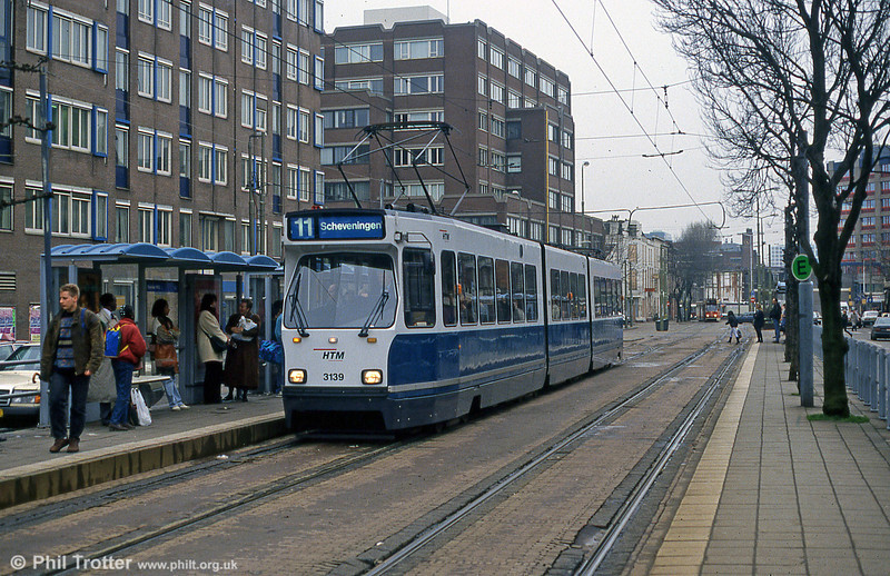 Car 3139 at Holland Spoor on 15th April 1994.