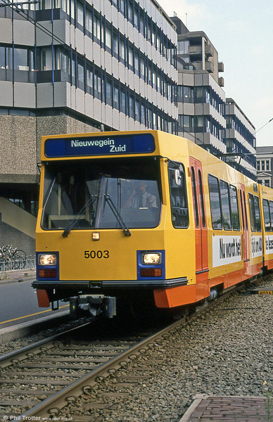 Car 5003 at Utrecht on 7th August 1990.