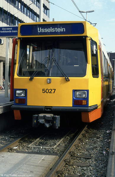 Car 5027 at Utrecht on 7th August 1990.