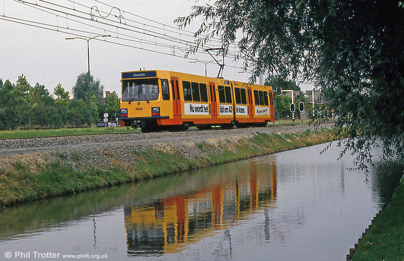 Car 5020 at Wijkersloot on 8th August 1990.
