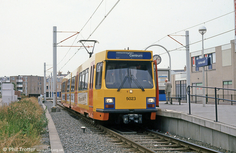 Car 5023 at Acterveld on 8th August 1990.
