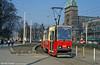 Konstal 105N no. 694 at Plac Zwycięstwa.