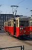 Szczecin Konstal 4N car 259 at Pomorzany terminus.