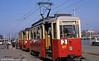 Szczecin Konstal 4N car 114 at Glowny Station.