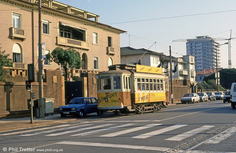 218 in Avenida Montevideu, near Castelo do Queijo on 26th November 1993.