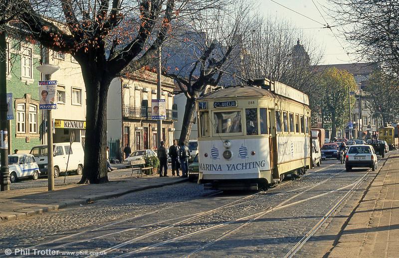 Oporto 288 at Massarelos on 26th November 1993.