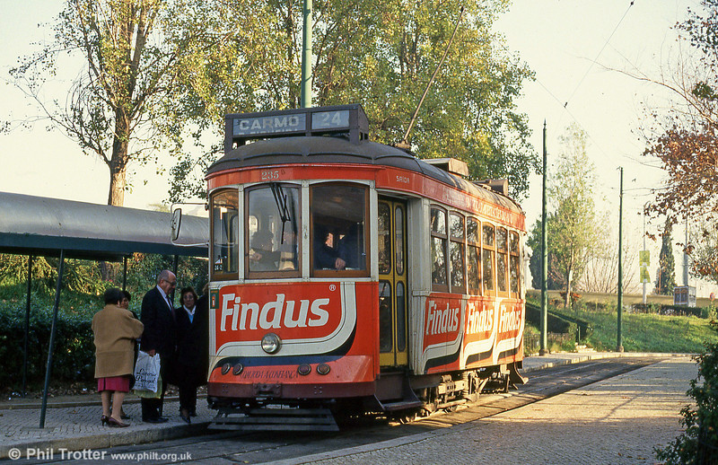 Car 235 at Alto de São João on 24th November 1993.