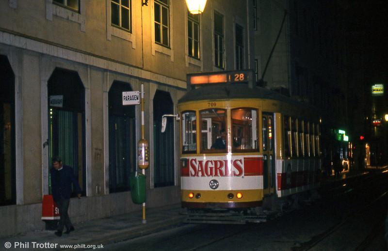Car 709 at Rua Da Conceição on 27th November 1993.