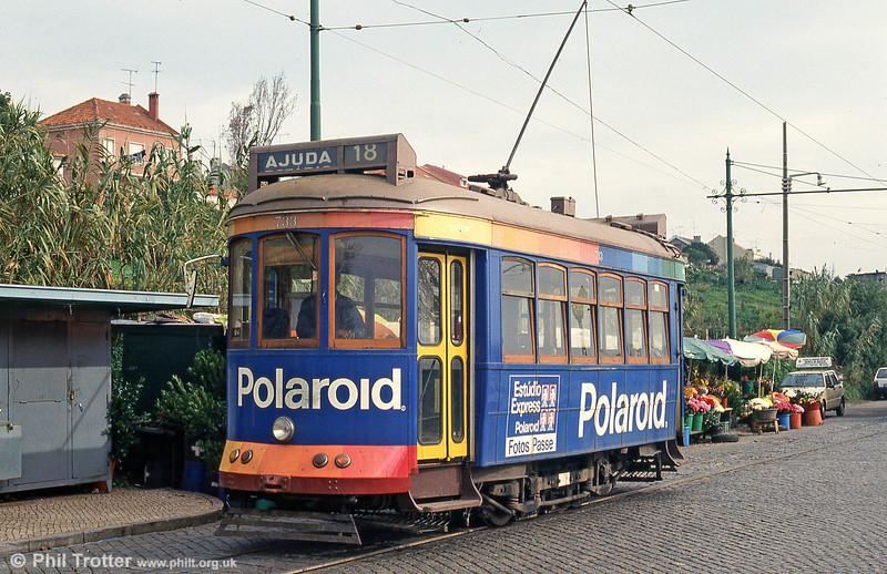 Car 733 at Ajuda on 23rd November 1993.
