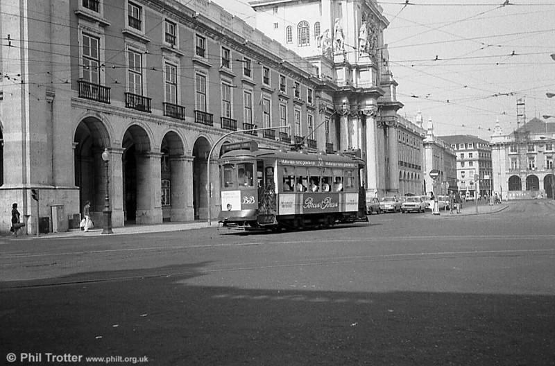 Lisbon, Praça do Comércio.