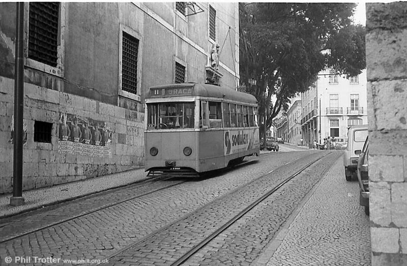 Lisbon 442, a single-ended rebuild of 1961-63.