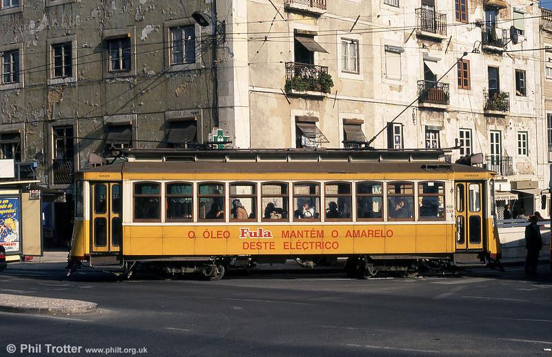 Lisbon 339 at Martim Moniz on 25th November 1993.