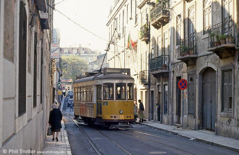 Lisbon 245 in Rua Silva Carvalho, Amoreiras on 24th November 1993.