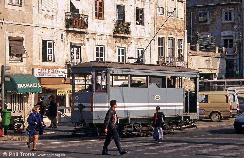 Lisbon 389 at Martim Moniz on 25th November 1993.