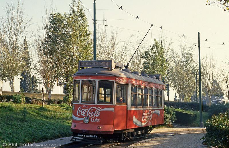 Car 773 at Alto de São João on 24th November 1993.