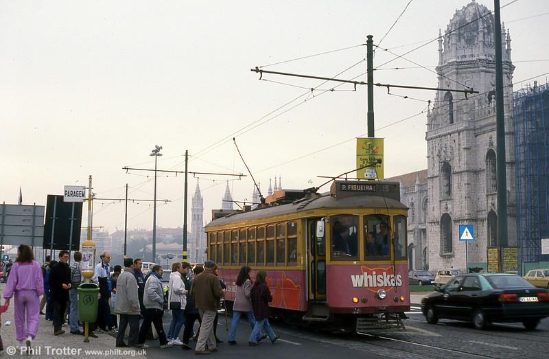 Car 351 at Belem on 27th November 1993.