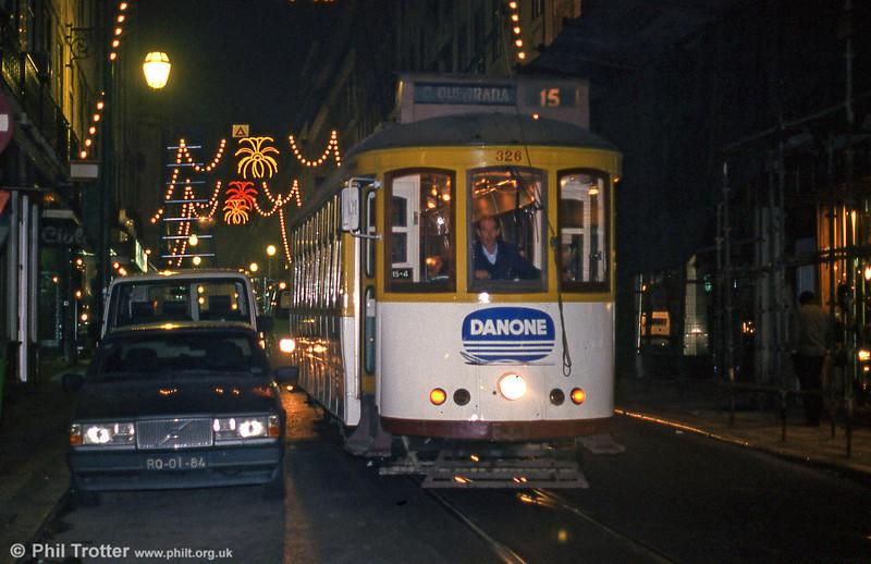 Car 326 at Rua Da Conceição on 27th November 1993.