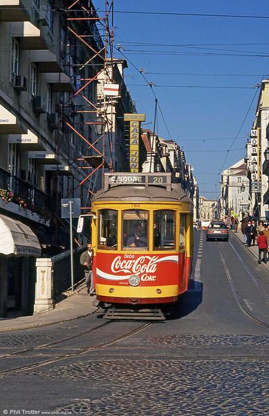 Car 785 at Cais do Sodré on 24th November 1993.