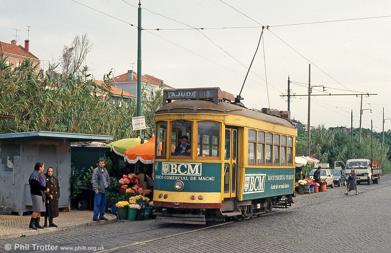 Car 727 at Ajuda on 23rd November 1993.