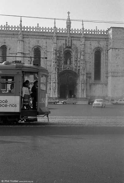 Jeronimos Cathedral. When was the last time you saw an Austin 1100?