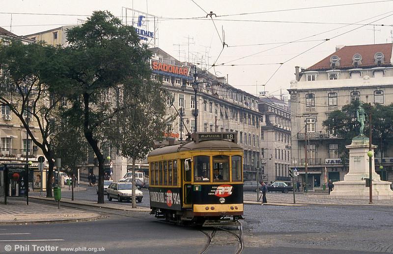 Car 715 at Cais do Sodré on 24th November 1993.