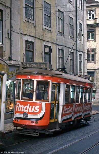 Car 724 at Rua Da Conceição on 22nd November 1993.