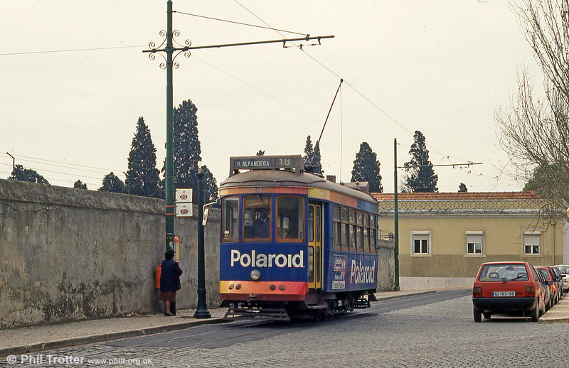 Car 733 at Ajuda on 23rd November 1993.