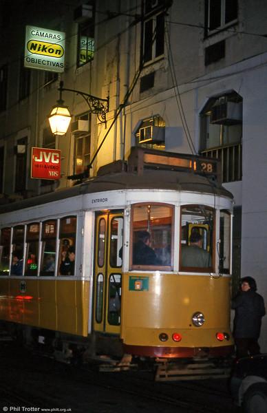 Car 720 at Rua Da Conceição on 22nd November 1993.