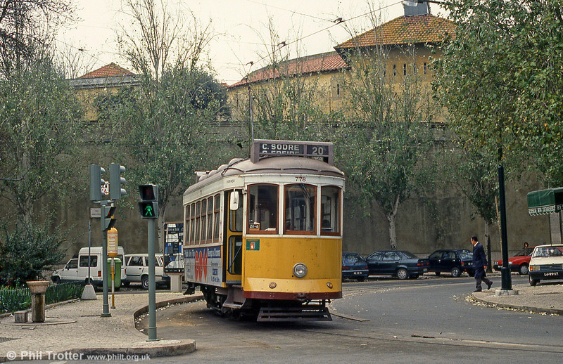 Car 778 at Gomes Freire on 27th November 1993.