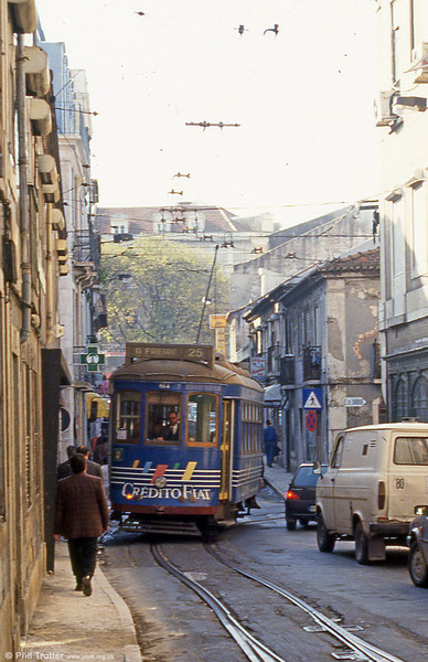 Lisbon 614 in Rua Silva Carvalho, Amoreiras on 24th November 1993.