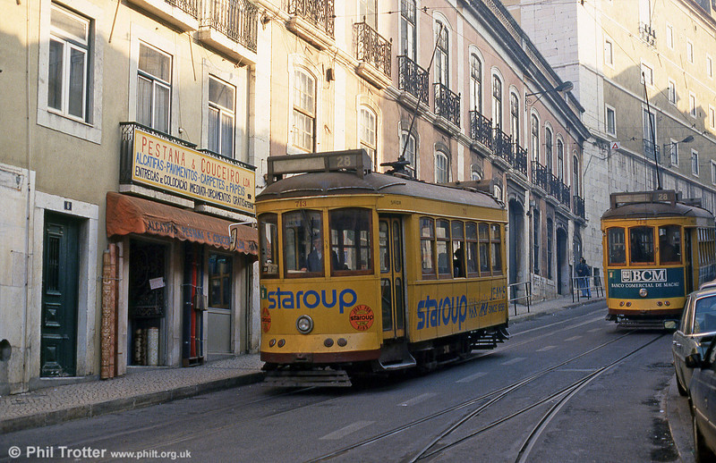 Car 713 at Graça on 25th November 1993.