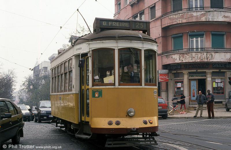 Car 720 at Rua S. Domingos on 27th November 1993.