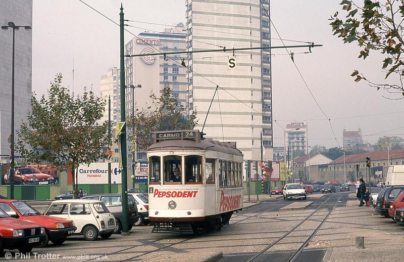 Car 771 at Amoreiras on 27th November 1993.