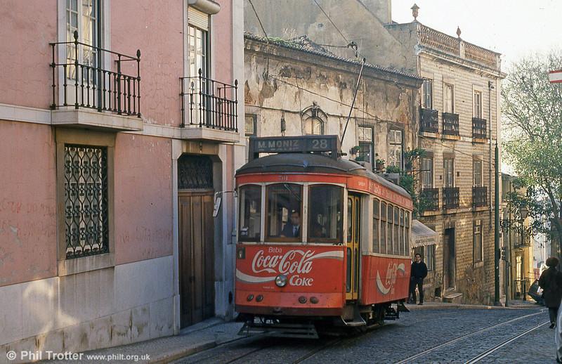 Car 701 at Escolas Gerais on 25th November 1993.