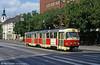 Tatra K2 7028 at Kamenné námestie on 16th August 1992.