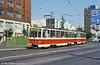 Bratislava T6A5 7915 at Kamenné námestie when still quite new on 16th August 1992.