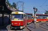 K2 7039 at the Hlavná stanica (Central Railway Station) loop on 16th August 1992.