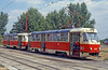 Bratislava Tatra T3 7839 at Ružinovská terminus on 16th August 1992.