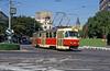 Tatra K2 7009 at Kamenné námestie on 16th August 1992.