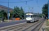 Tatra K2 7015 at Námestie Slobody on 16th August 1992.