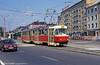 Tatra K2 7060 at Trnavská on 16th August 1992.