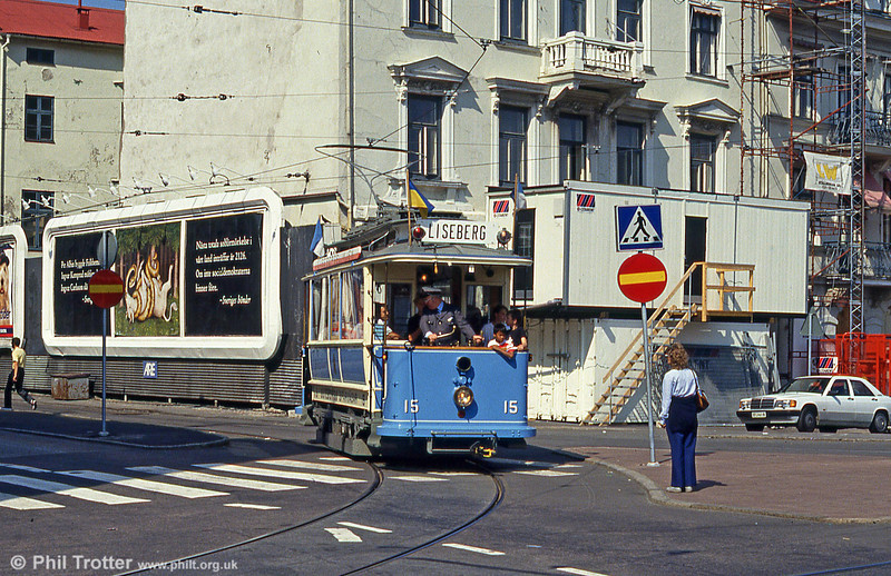 Car 43 near the Central Station on 29th July 1991.