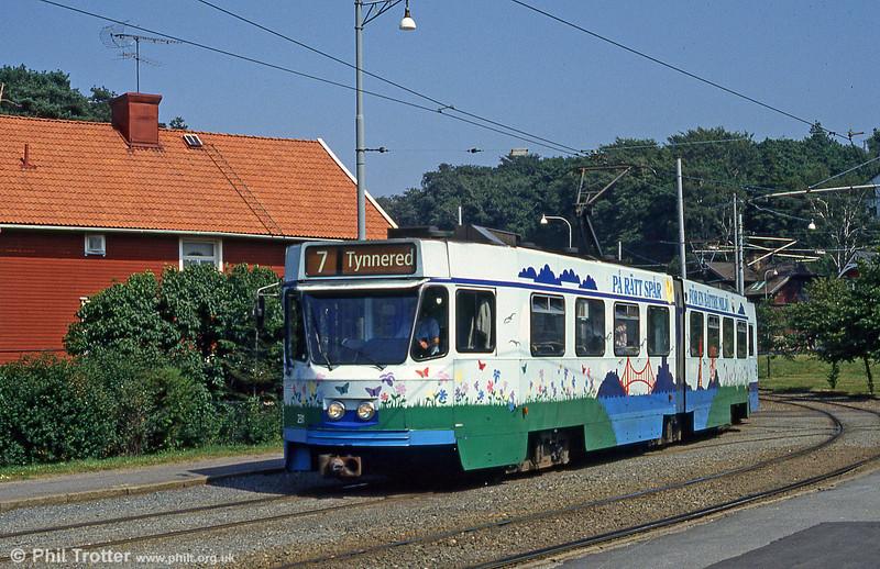 Car 231 at Marklandsgatan on 29th July 1991.