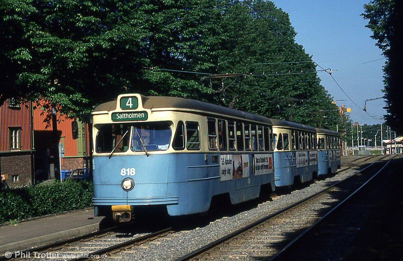 Goteborg 818 at Ostindiedatan, 30th July, 1991. 125 M25 cars were built between 1958 and 1961.