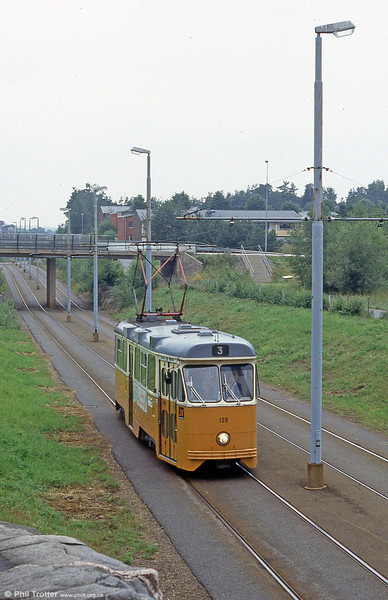 Car 139 at SMHI on 2nd August 1991.